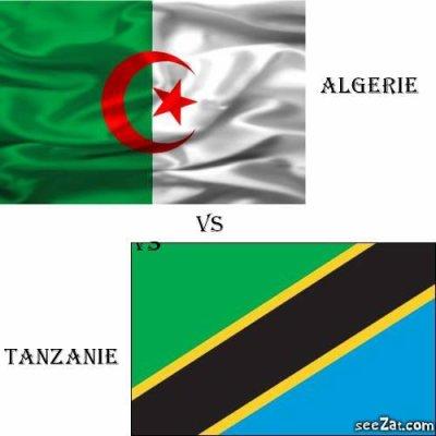Algérie vs Tanzanie