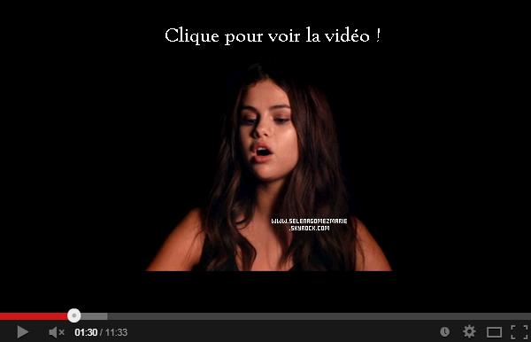 . Selena Marie Gomez fait une courte apparition dans le clip de 30 SECONDS TO MARS.  .