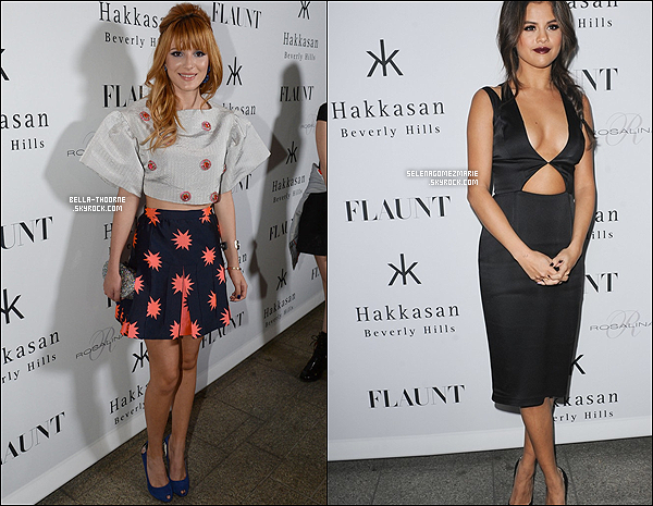 . COLLABORATION || Qui de Selena ou Bella était la plus séduisante pour Flaunt ?  .