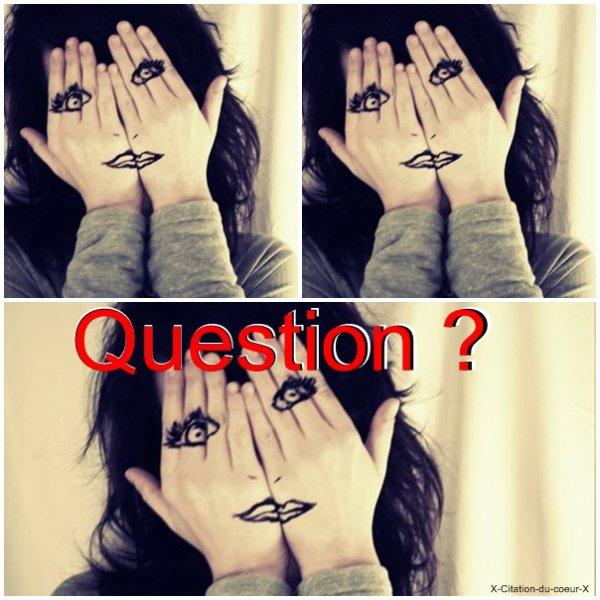 Articles questions !