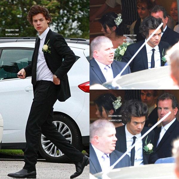 Harry au mariage de sa mère