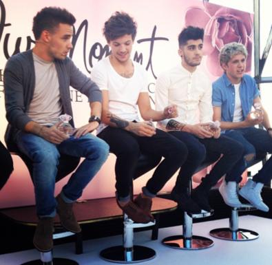 Le Nouveau Parfum Des One Direction ( Suite )