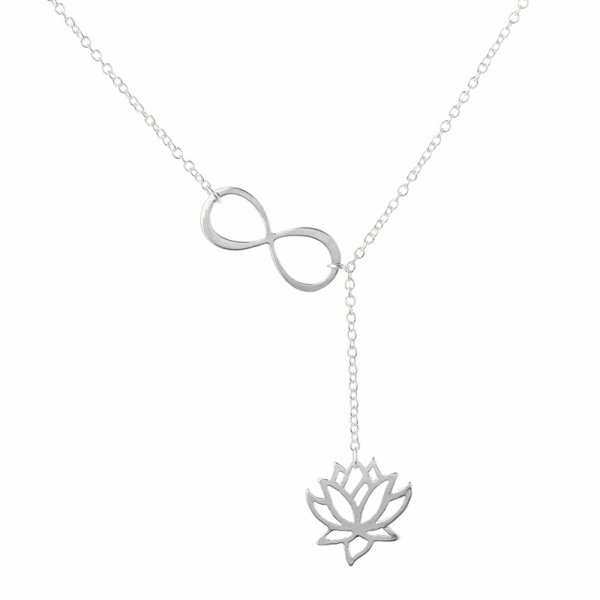 Collier infini et son lotus