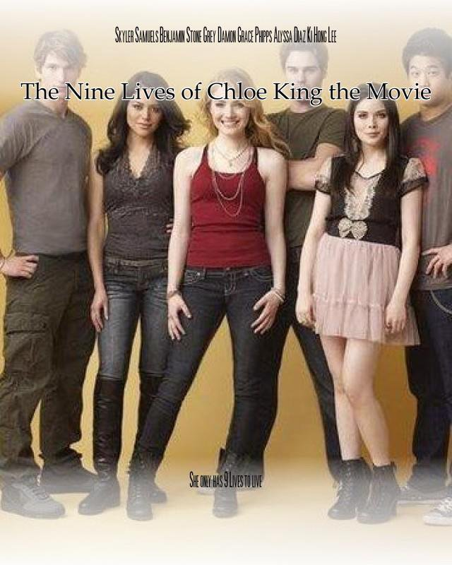 #NineLivesofChloeKing -Possible Movie in the Making ? :) http://chloekingsource.skyrock.com