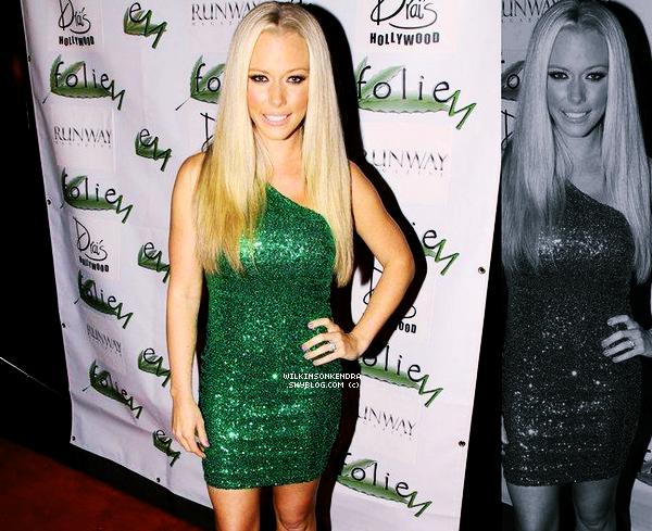 """_______ __ Event - Kendra était ce 01 Mars, a la soirée """" FolieM Perfume Launch Party """" dans Hollywood Aucunes autres photos de cette sortie.   _______"""