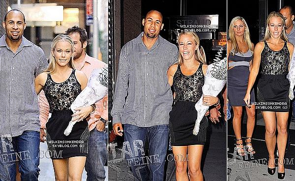 ____ . Candid -  Kendra, Hank & un couple d'amis allant dinner dans Manhattan le 09 juin.   _______