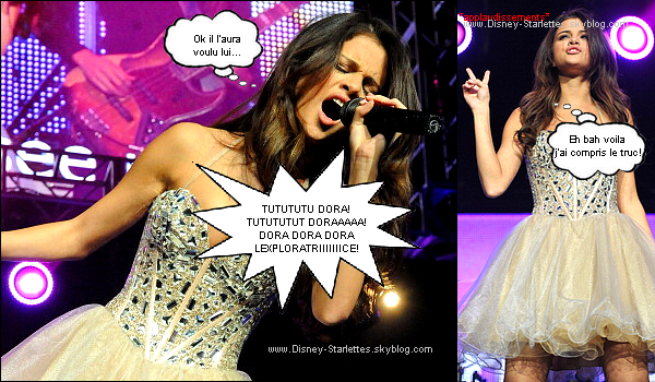 BD: Haaa Selena a suivi mes conseils!!!