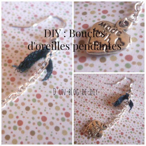 DIY : Créer ses boucles d'oreilles pendantes !