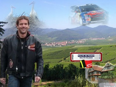 Rallye de France 2010 en Alsace avec notre Sébastien