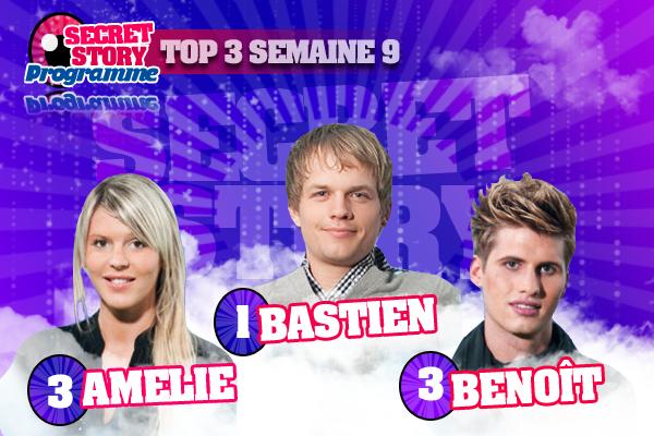 _TOP 3 SEMAINE 8_ VOTRE TOP 3 SEMAINE 8 !