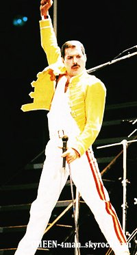 Biographie Freddie Mercury