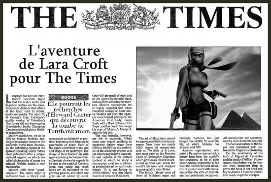 Tomb Raider 4 The times