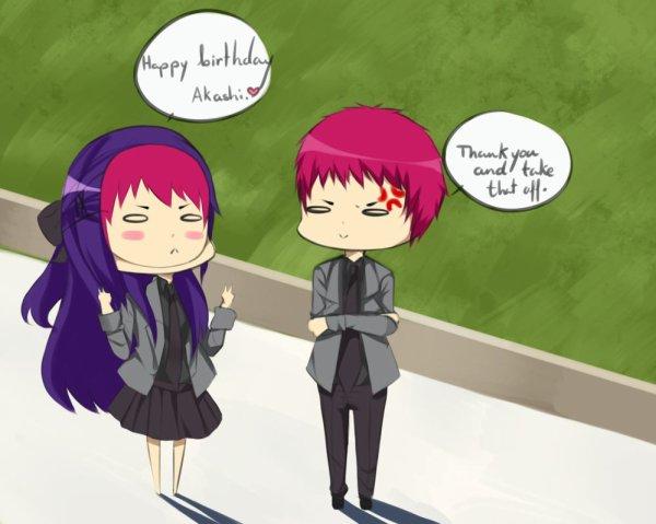 Akashi x OC [ Je t'accompgne ? ]
