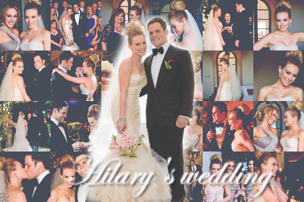Le mariage - 14 Août 2010 • • • ________________________________________________________________________________________________ ________HTTP://HIL4RY-DUFF.SKYBLOG.COM