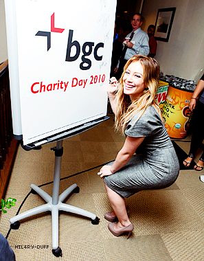 BGC Charity Day • • • _________________________________________________________________________________________________ ________HTTP://HIL4RY-DUFF.SKYBLOG.COM