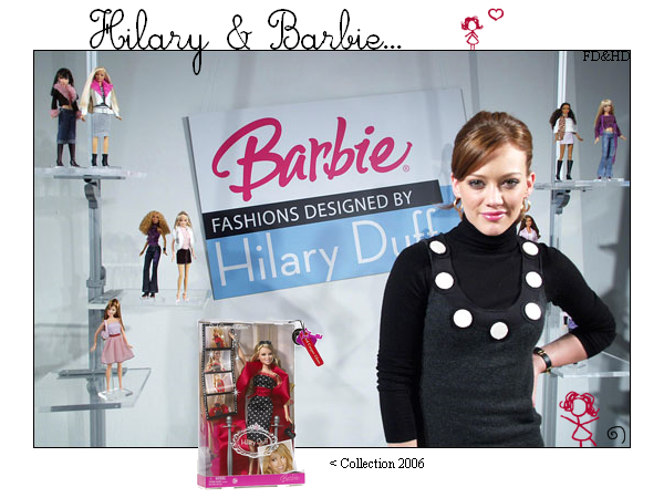 Hilary et Barbie • • • _________________________________________________________________________________________________ ________En collaboration avec FruityDuff