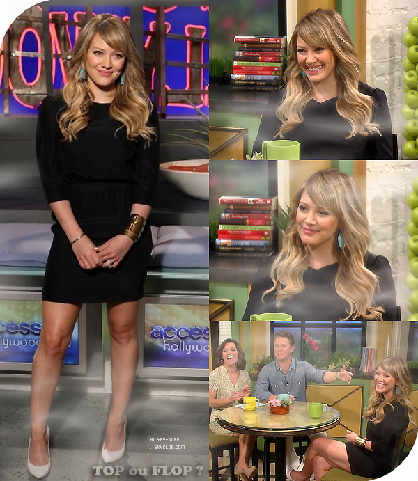 Access Hollywood • • • _______________________________________________________________________________________ ________HTTP://HIL4RY-DUFF.SKYBLOG.COM
