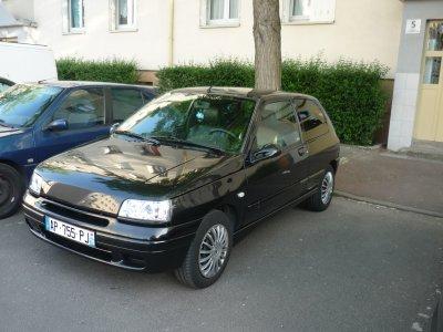 Clio vitre arrière teinté