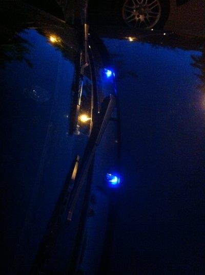 Gicleur led bleu