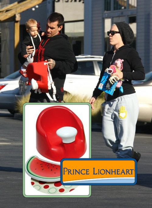 Willow has a Prince LionHeart bebePOD Plus in Watermelon – $41.98