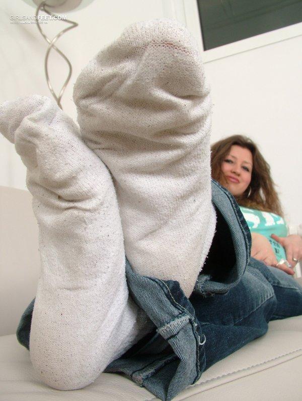 chaussettes en folie