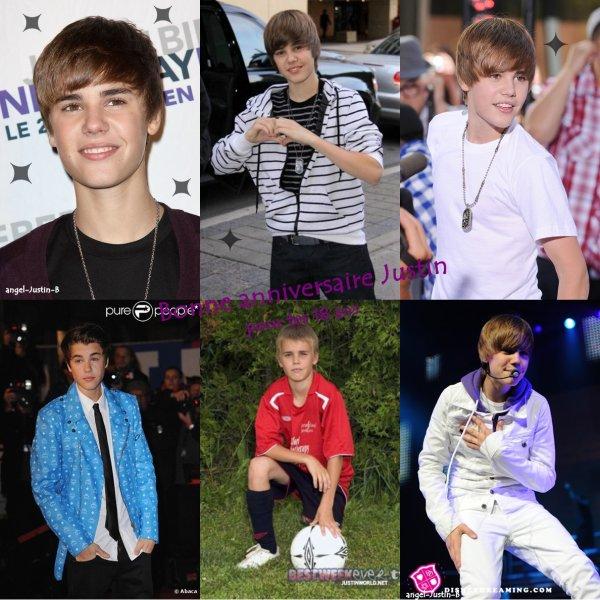 Joyeux anniversaire Justin