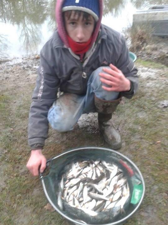 Pêche d'hiver!