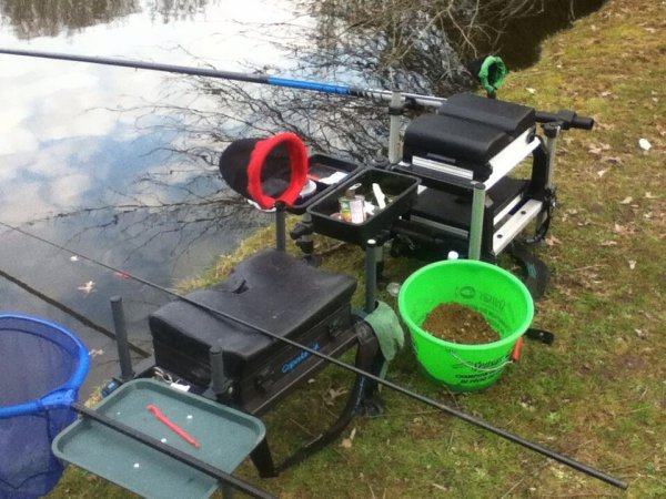 Belle pêche de gardons