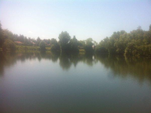 Pêche dans un nouvel étang!
