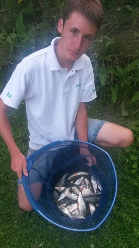 Petite pêche en étang
