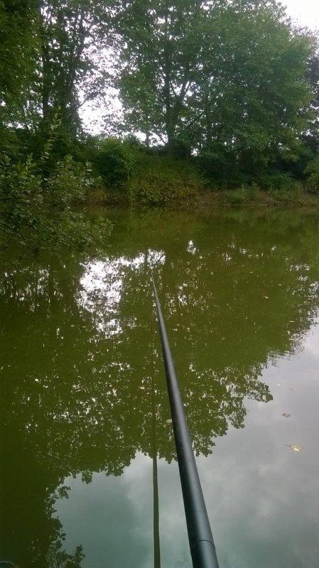 Pêche au mais!