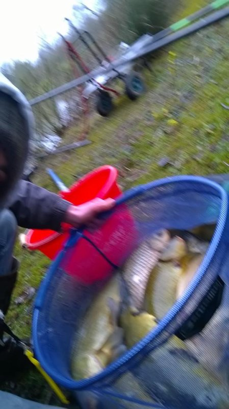 Grosse pêche enfin les gros blanc!