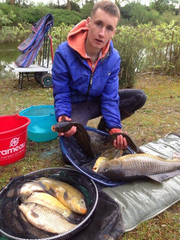 Très jolie pêche