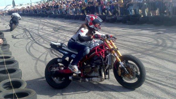 Fête de la moto Troyes (10) : Sarah