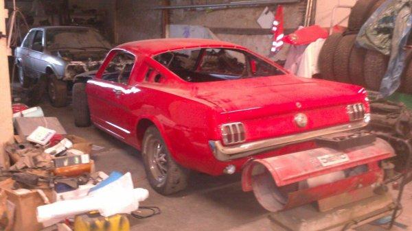 Garage d'un ami