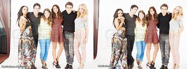 Photoshoot 2013:Découvrez de nouvelles photos de Kat et ses co-stars de TVD fait au Comic Con.