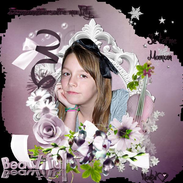Ce 27 février ma lily aura 12 ans (l) Bon anniversaire E lisa-Beth(l) love(l)(l)(l)