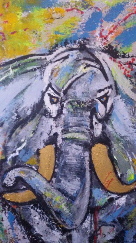derniere toile l'éléphant