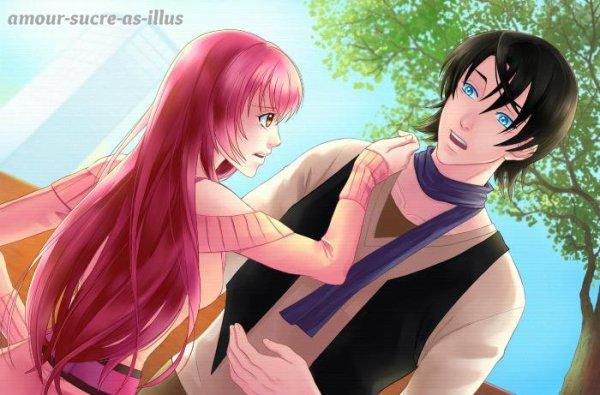 Sucrette : Cheveux longs,rose,yeux marron. (Que les illustrations avec une sucrette.)