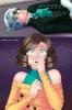 Sucrette : Cheveux bouclée,cendre,yeux vert. (Que les illustrations avec une sucrette.)