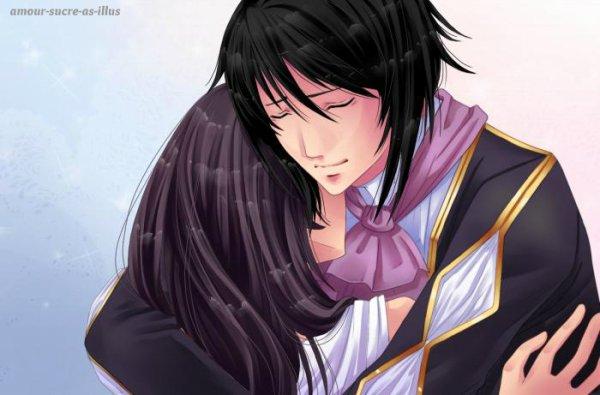 Sucrette : Cheveux long,noir,yeux noir. (Que les illustrations avec une sucrette.)