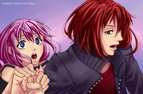 Sucrette : Cheveux longs,rose,yeux bleu. (Que les illustrations avec une sucrette.)