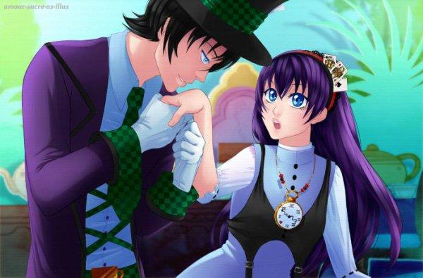 Sucrette : Cheveux long,violet,yeux bleu. (Que les illustrations avec une sucrette.)