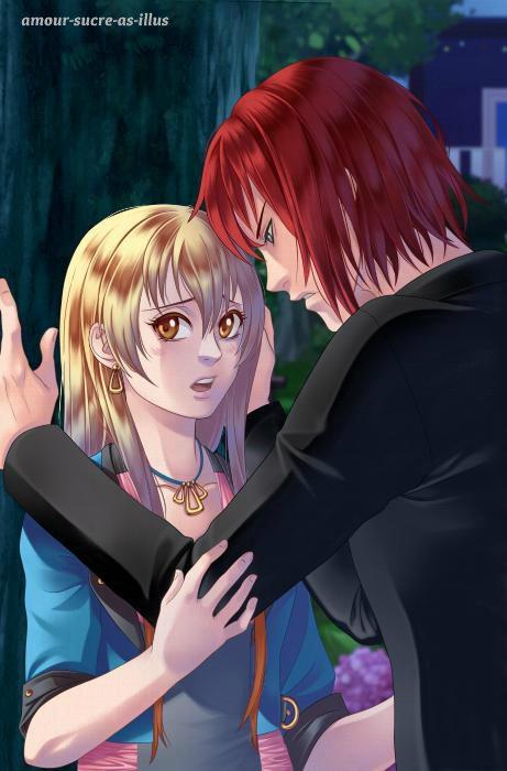 Sucrette : Cheveux long,blond,yeux marron. (Que les illustrations avec une sucrette.)