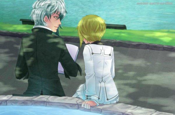 Sucrette : Cheveux court,blond,yeux bleu. (Que les illustrations avec une sucrette.)