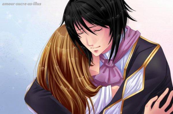 Sucrette : Cheveux longs,marron,yeux violet. (Que les illustrations avec une sucrette.)