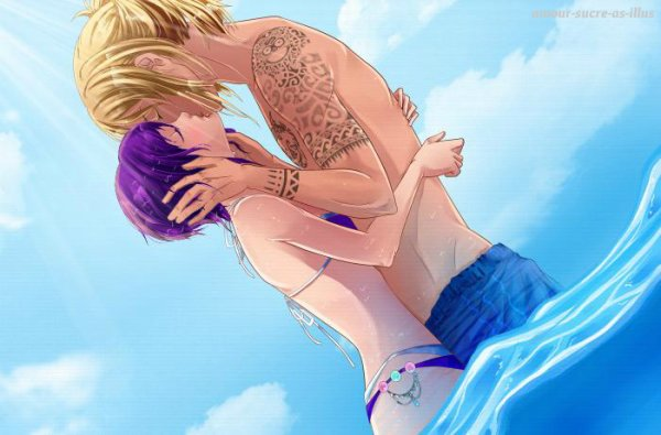 Sucrette : Cheveux court,violet,yeux violet. (Que les illustrations avec une sucrette.).