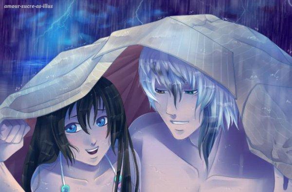 Sucrette : Cheveux long,noir,yeux bleu. (Que les illustrations avec une sucrette.)