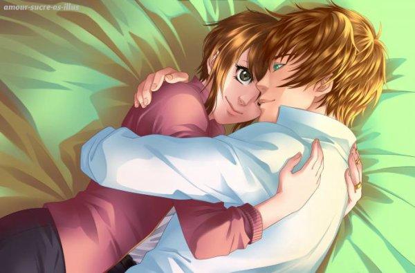 Sucrette : Cheveux court,marron,yeux noir. (Que les illustrations avec une sucrette.)
