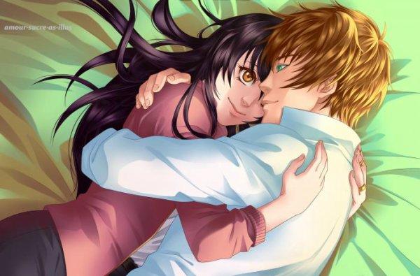 Sucrette : Cheveux long,noir,yeux marron. (Que les illustrations avec une sucrette.)
